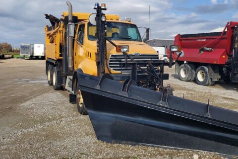 2008 STERLING LT9500 TANDEM AXLE DUMP TRUCK WITH SNOW PLOW – $35,000