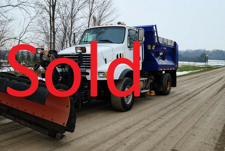 2006 STERLING DUMP TRUCK WITH SNOW PLOW AND SANDER