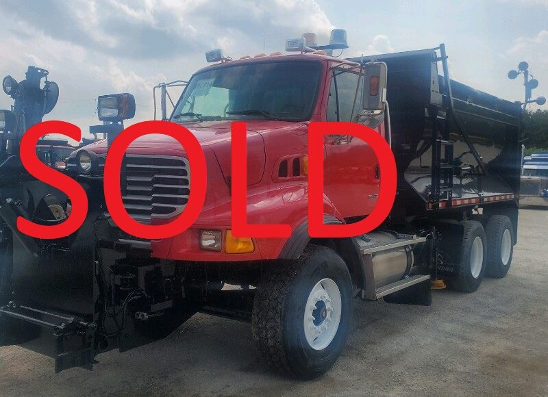 2006 STERLING LT9500 TANDEM AXLE DUMP TRUCK WITH SNOW PLOW