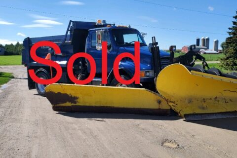 2003 Sterling Single Axle Dump Truck with Snow Plow and Sander